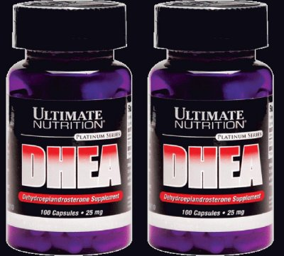 2 ULTIMATE NUTRITION DHEA 25 MG 100 CAPS