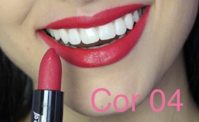 Batom Queen Makeup Matte - Cor 04