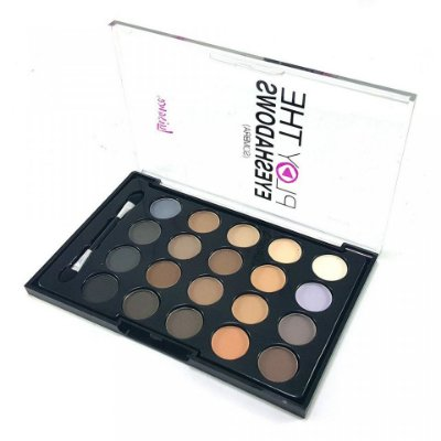 Paleta de Sombras Matte Play The Eyeshadows Luisance L1021