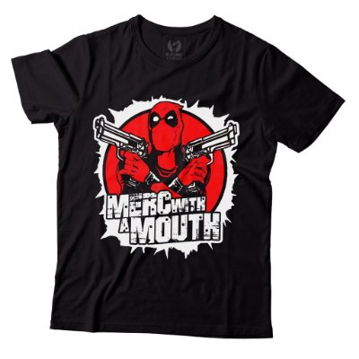 Camiseta Deadpool - Merc With a Mouth