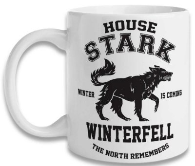 Caneca Game of Thrones - Winterfell