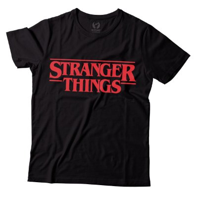 Camiseta Stranger Things - Logo