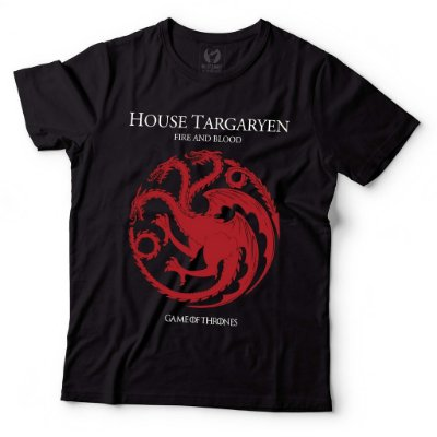 Camiseta Game of Thrones - House Targaryen