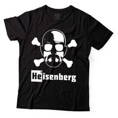 Camiseta Breaking Bad - Heisenberg Danger Preta