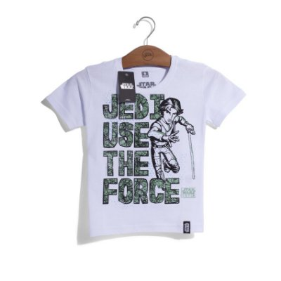 Camiseta Infantil Star Wars Rebels Jedi Use The Force