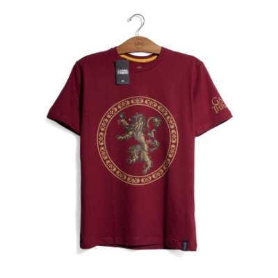 Camiseta Game of Thrones Casa Lannister