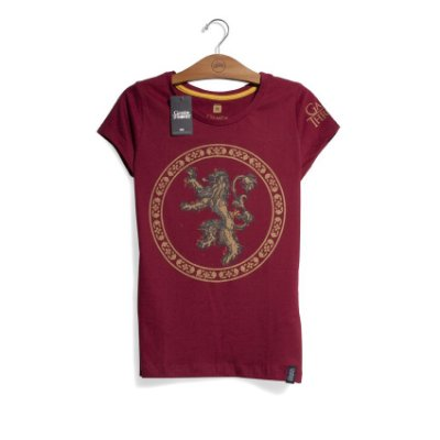 Camiseta Game of Thrones Casa Lannister Feminina