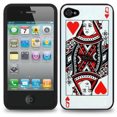 Poker Queen Case - iPhone 4/4S