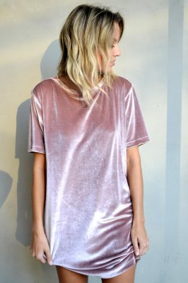 OVERSIZED T-SHIRT VALENTINA QUARTZ