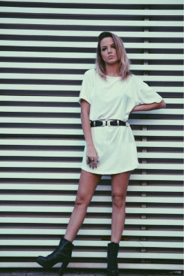 OVERSIZED T-SHIRT VALENTINA WHITE