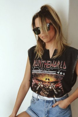 T-SHIRT SPECIAL ROCK IN RIO REGATA MOTORCYCLE