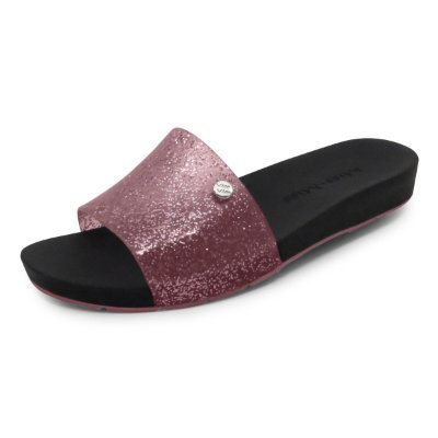 Chinelo Slide Bright Miss-Miss | Rosa Gliter