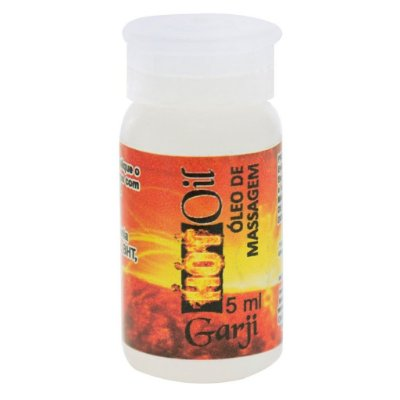 Hot oil flaconete óleo funcional 5ml Garji