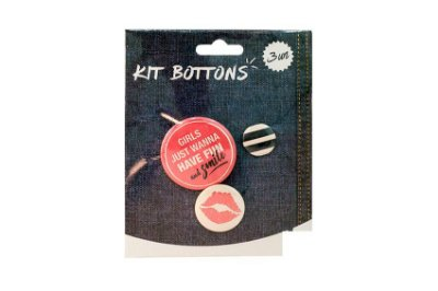 KIT BOTTONS BEIJO