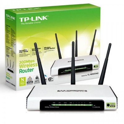 ROTEADOR WIRELESS TP-LINK 300MBPS TL-WR941ND