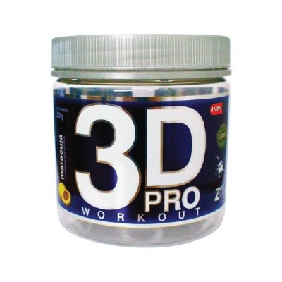 3D PRO WORKOUT 200G (POTE) PROCORPS - ABACAXI