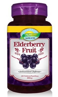 Elderberry Fruit - 120 Unid. Nutrigold (800mg)
