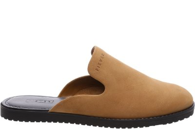 Mule Slipper Couro Nobuck Old Whisky