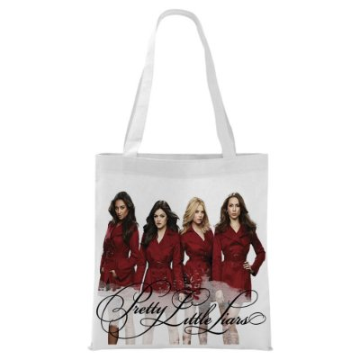 Ecobag - Pretty Little Liars - Vertido Red