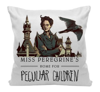Almofada - Miss Peregrine's home for Peculiar Children