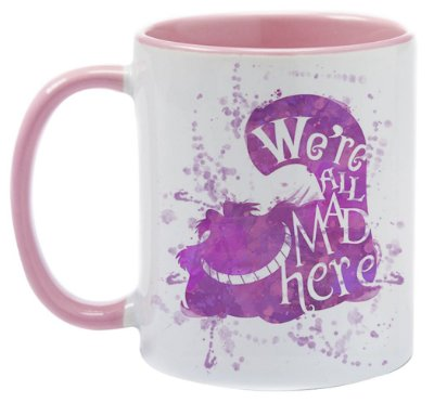 Caneca - Alice - We're all Mad Here