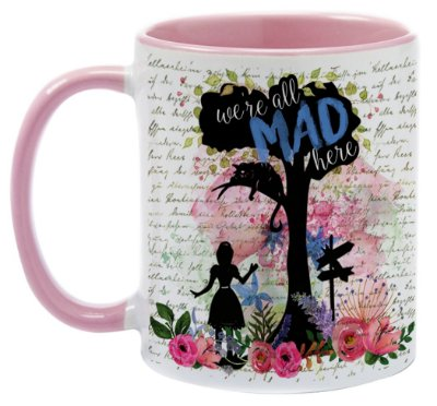 Caneca - Alice - We're all Mad