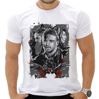 Camiseta Masculina - Sons of Anarchy