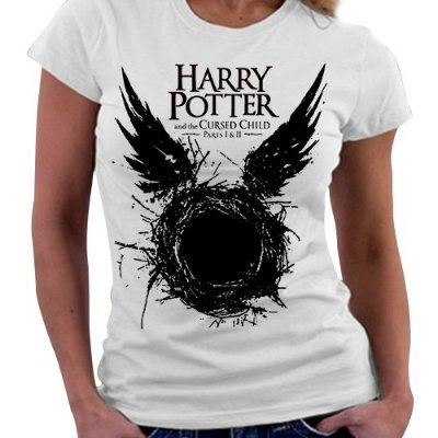 Camiseta Feminina - Harry potter and the cursed child