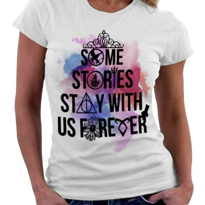 Camiseta Feminina - Some Stories
