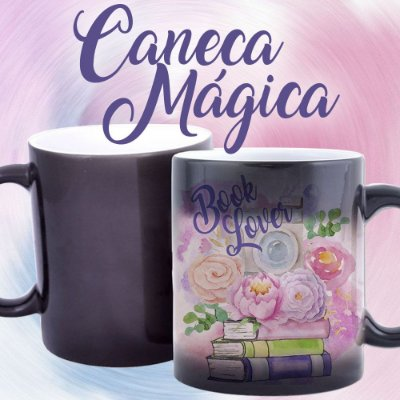 Caneca Mágica - Bookstagram - Book Lover