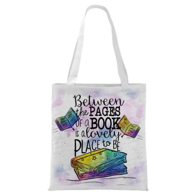 Ecobag -Bookstagram - Between the pages
