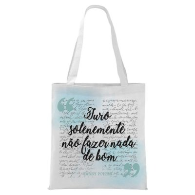 Ecobag - Harry POtter - Juro Solenemente