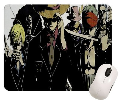 Mouse Pad - Anime One Piece Black