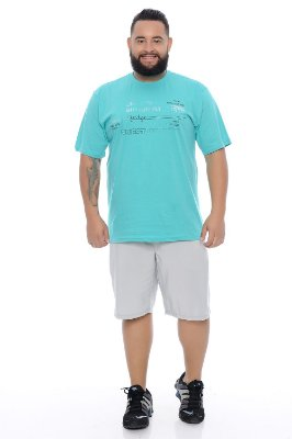 Bermuda Masculina Plus Size Tactel Apollo
