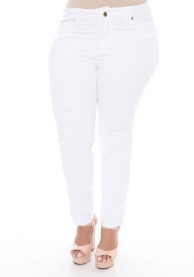 Calça Cropped Plus Size