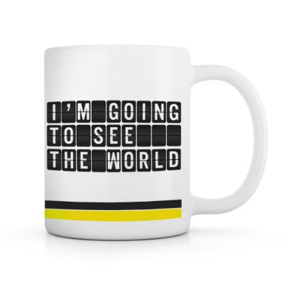 Caneca I'm going to see the world