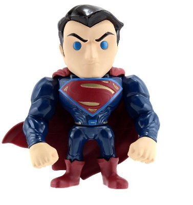 Boneco Metal DIE CAST DC COMICS Superman BvS 4""