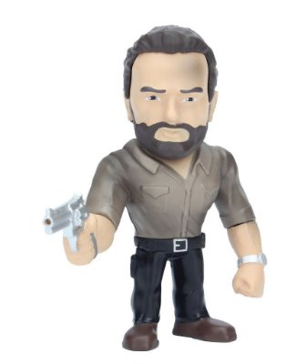 Boneco Metal DIE CAST THE WALKING DEAD Rick Grimes 4""