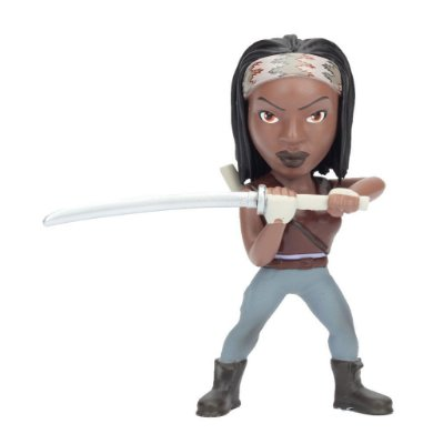 Boneco Metal DIE CAST THE WALKING DEAD Michonne 4""