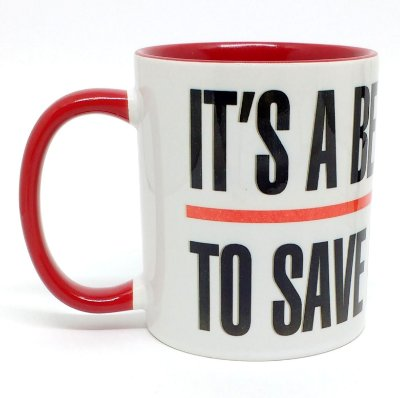CANECA - It's a beautiful day to save lives - RED