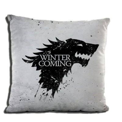 ALMOFADA GAME OF THRONES - WINTER IS COMING
