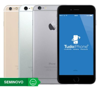 iPhone 6 Plus - 16GB - Seminovo - 1 Ano de Garantia TudoiPhone
