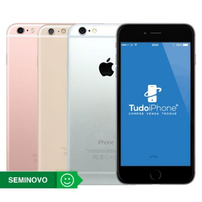 iPhone 6s Plus - 128GB - Seminovo - 1 Ano de Garantia TudoiPhone