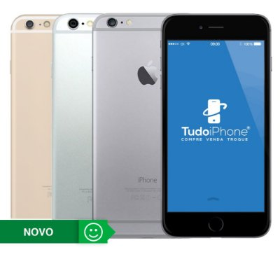 iPhone 6 Plus - 16GB - Novo - 1 Ano de Garantia TudoiPhone
