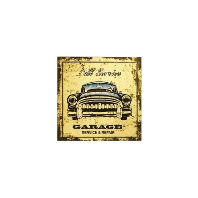 Placa decorativa - Full service garage