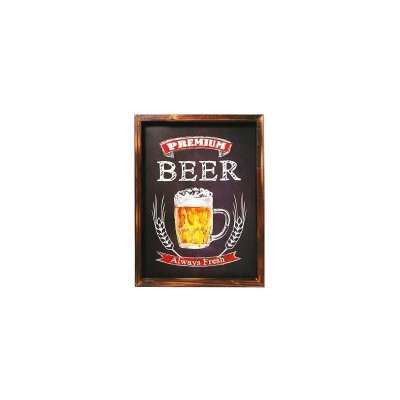 Placa decorativa - Premium beer