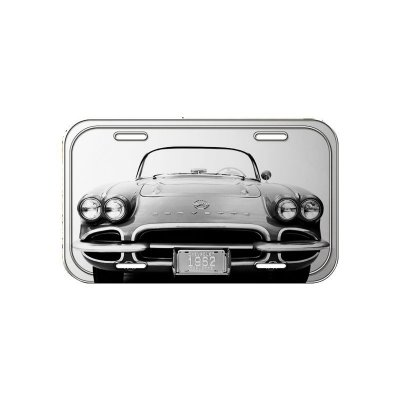 Placa decorativa - GM corvette