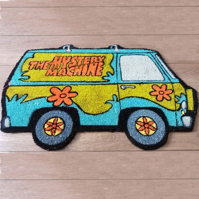 Capacho - Scooby Mystery Machine