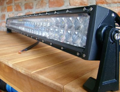 "Barra de LED Reta 40"" - 240W - 4D"