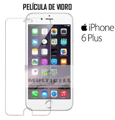 PELICULA DE VIDRO APLLE IPHONE 6 PLUS 5.5'' 0.3mm